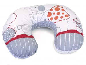 Feeding pillow my zoo red